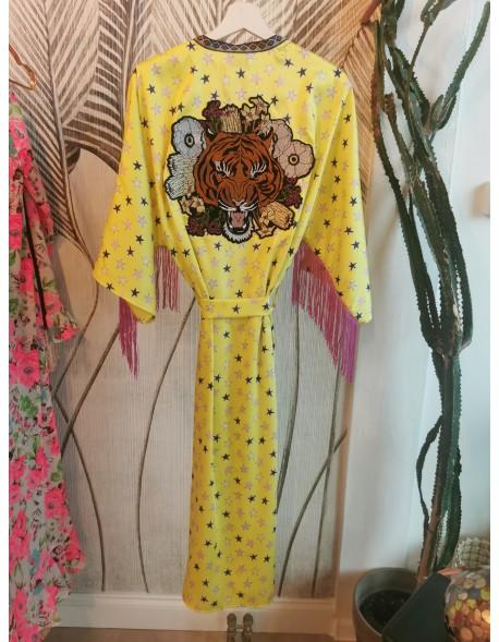 Kimono Yellow Tiger