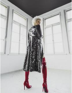 Lateksowy płaszcz