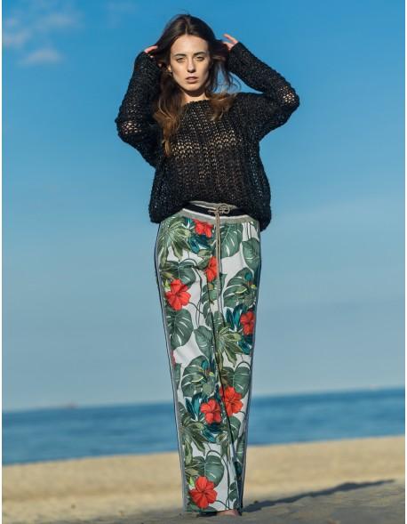 Spodnie Palmy ze ściągaczami