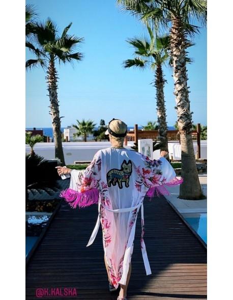 Kimono Pink Bulldog
